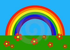 虹は虫と関係がある? なぜ虫偏?